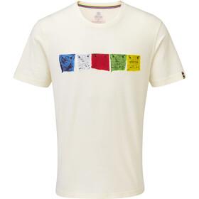 Sherpa Tarcho Miehet Lyhythihainen paita , valkoinen